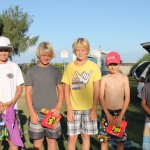 Grom Finalists L to R - Jai, Blair, Blake, Quinn, Luke