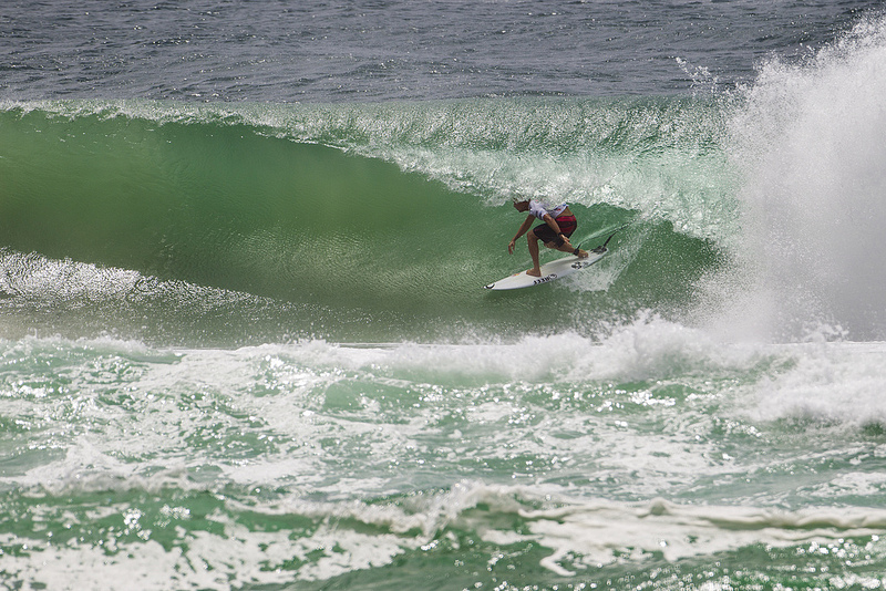 Mick Fanning Semi of Quiky Pro at Kirra