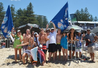 Kirra team and support crew